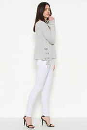 Fate Oversized Eyelet Sweater - Product Mini Image