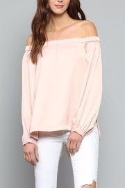 Fate Pink Satin Top - Product Mini Image