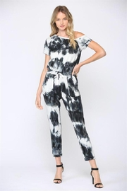 Fate Tie-Dye Jumpsuit - Front cropped