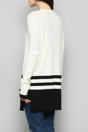 Fate Tricolored Striped Cardiagn - Side cropped