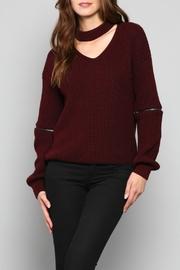 Fate V-Neck Knit Sweater - Product Mini Image