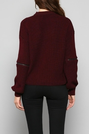Fate V-Neck Knit Sweater - Other