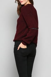Fate V-Neck Knit Sweater - Side cropped