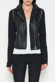 Fate Vegan Moto Jacket - Product Mini Image