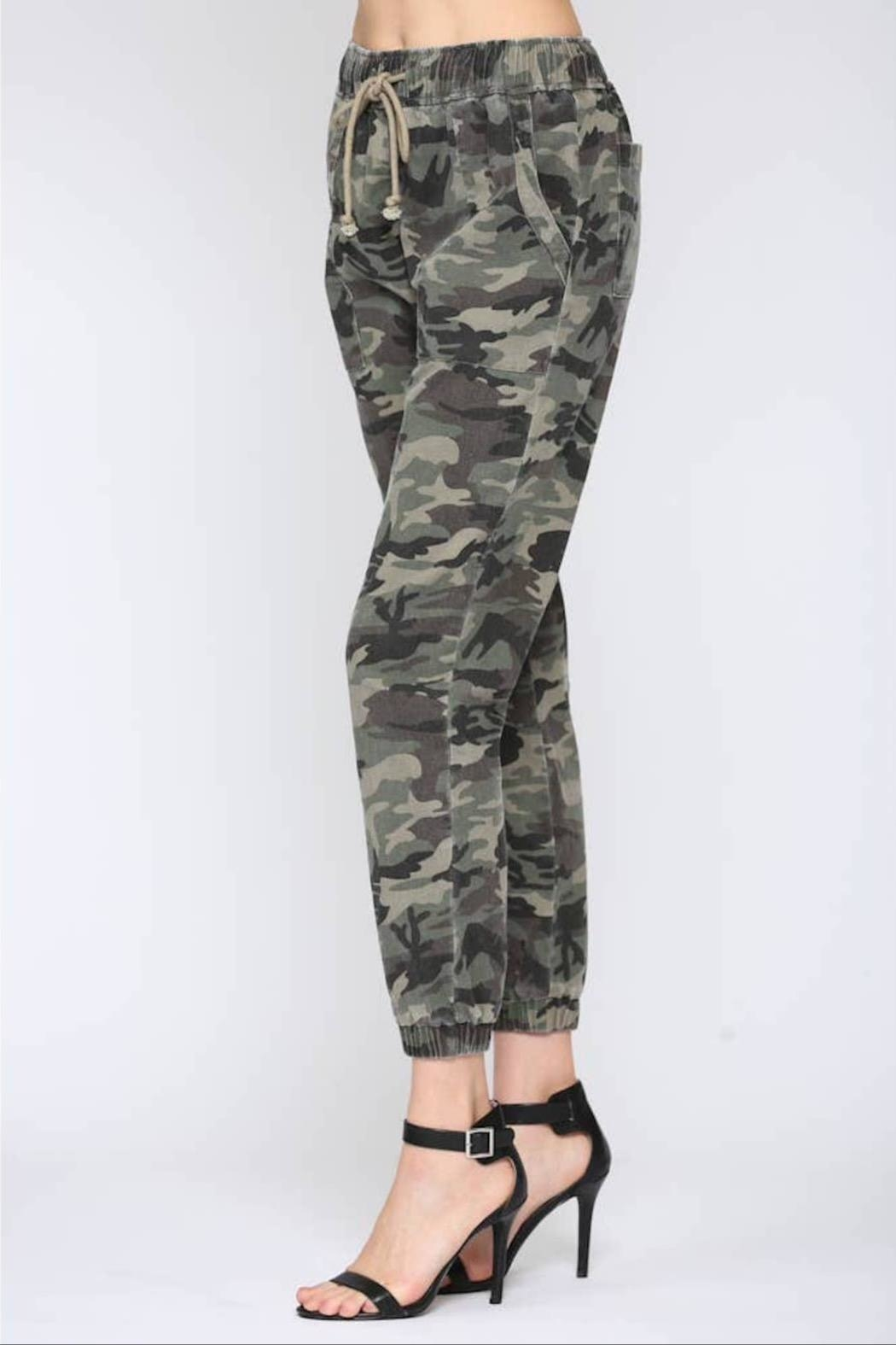 Fate Washed Camo Pant - Front Full Image