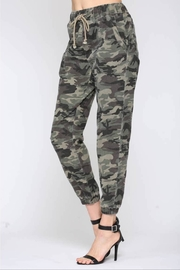 Fate Washed Camo Pant - Side cropped