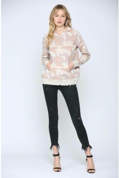 FATE by LFD Camo Hooded Sweater - Alternate List Image
