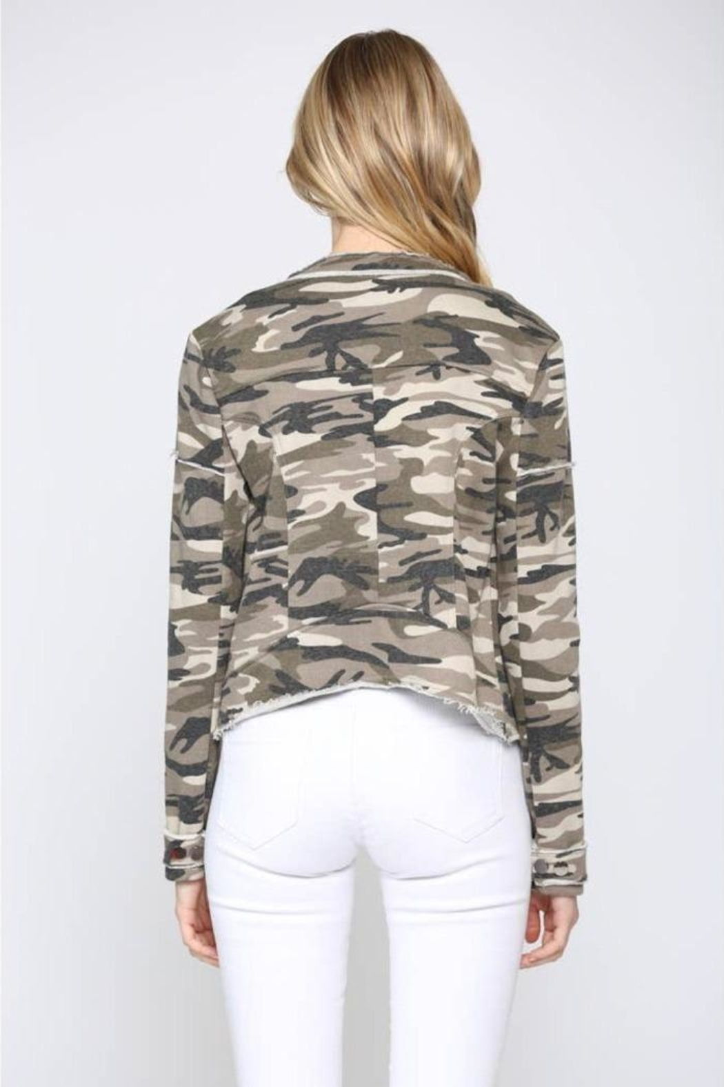 FATE by LFD Camo Printed Jacket - Side Cropped Image