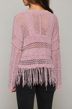 FATE by LFD Chenille Fringe Sweater - Alternate List Image