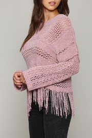 FATE by LFD Chenille Fringe Sweater - Product Mini Image