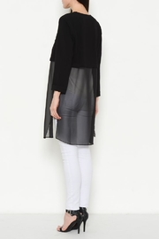 FATE by LFD Chiffon Detail Cardigan - Front full body