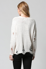 FATE by LFD Distressed Sweater - Side cropped