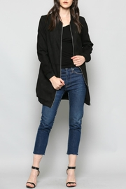 FATE by LFD Faux Suede Bomber - Product Mini Image