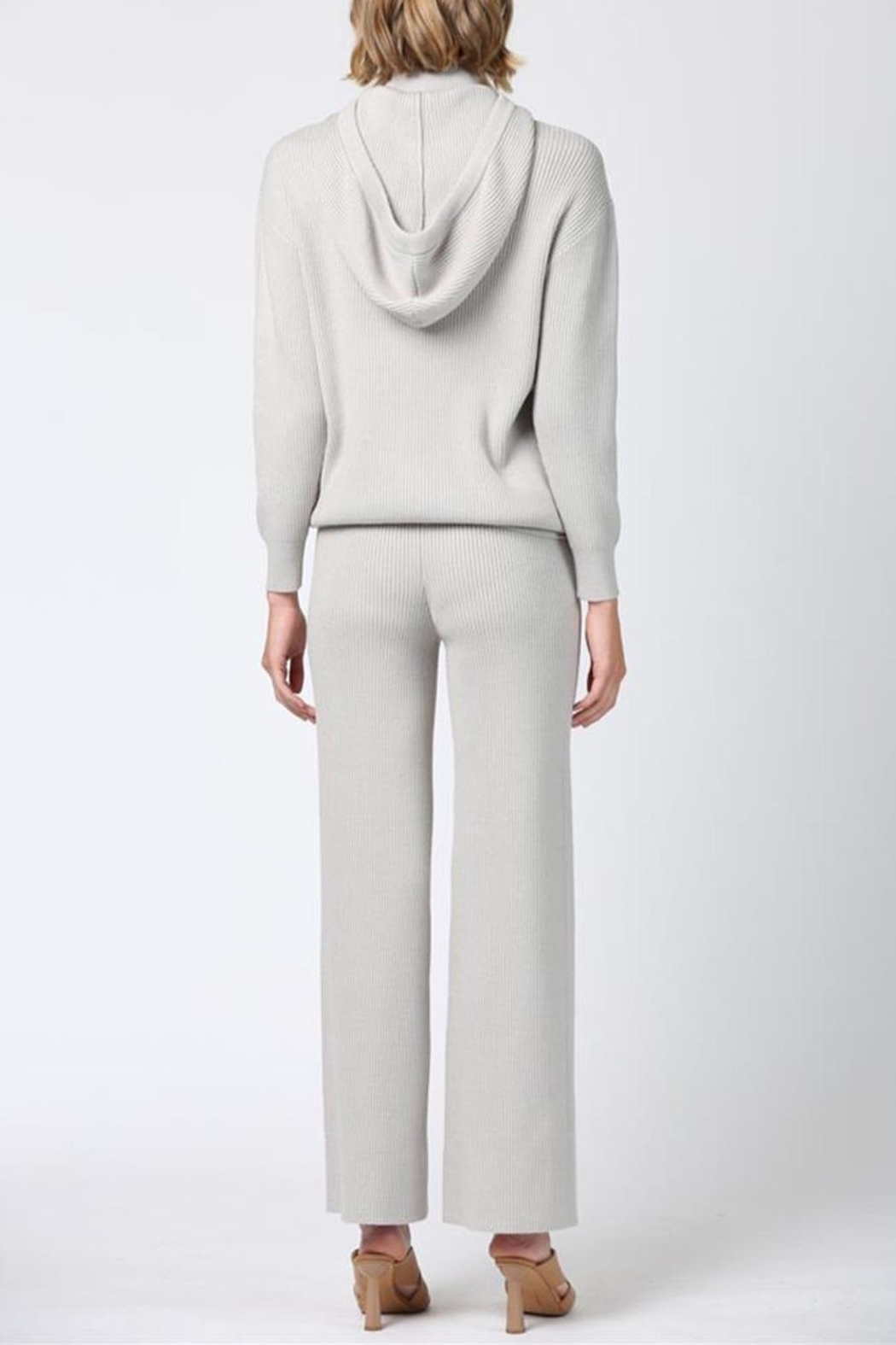 FATE by LFD Flare Knit Pant - Front Full Image