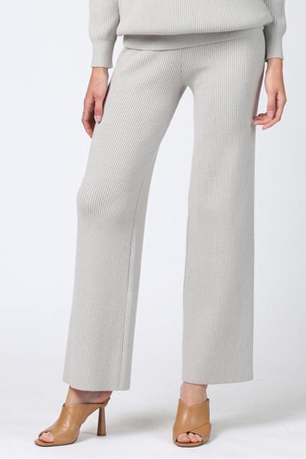 FATE by LFD Flare Knit Pant - Side Cropped Image