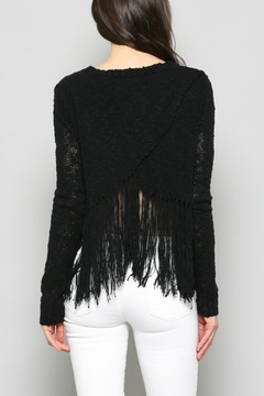 FATE by LFD Fringe Cropped Sweater - Alternate List Image