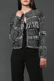 FATE by LFD Fringe Knit Cardigan - Product Mini Image