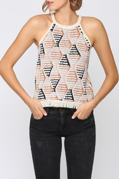 FATE by LFD Geo Knit Tank - Product List Image