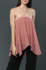 FATE by LFD Halter Neck-Tie Top - Front full body