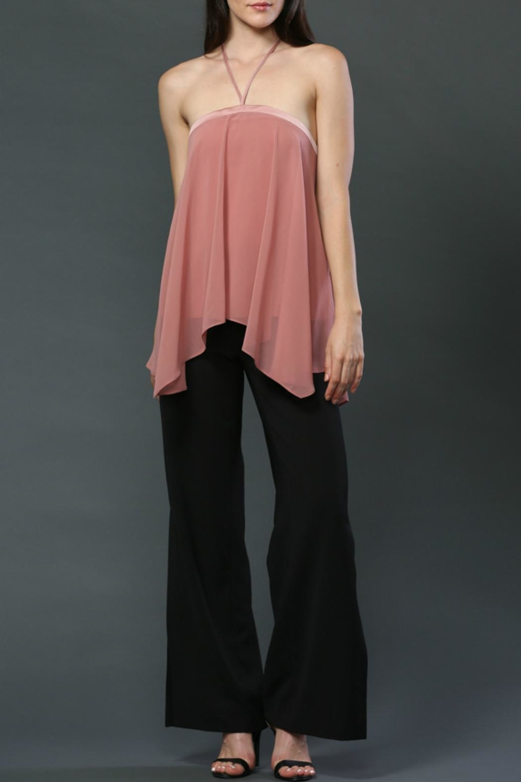 FATE by LFD Halter Neck-Tie Top - Main Image