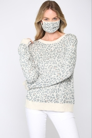 FATE by LFD Leopard Sweater +Mask - Front full body