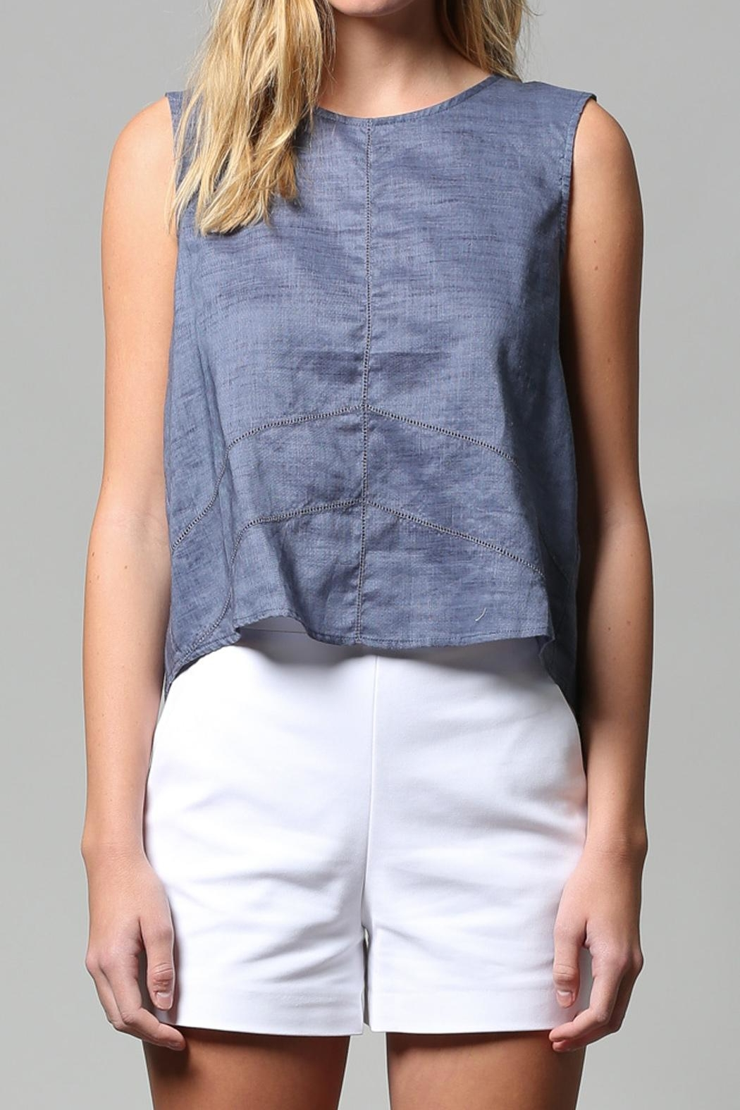 FATE by LFD Linen Tank - Front Full Image