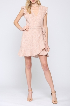 FATE by LFD Linen Wrap Dress - Product List Image
