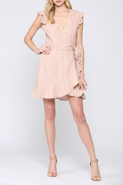 FATE by LFD Linen Wrap Dress - Product Mini Image
