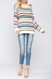 FATE by LFD Multi Stripe Sweater - Product Mini Image
