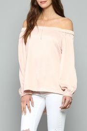 FATE by LFD Satin Top - Front cropped