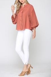 FATE by LFD Scarlet Ruffle Top - Product Mini Image