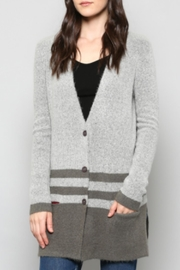 FATE by LFD Striped Grey Cardi - Product Mini Image