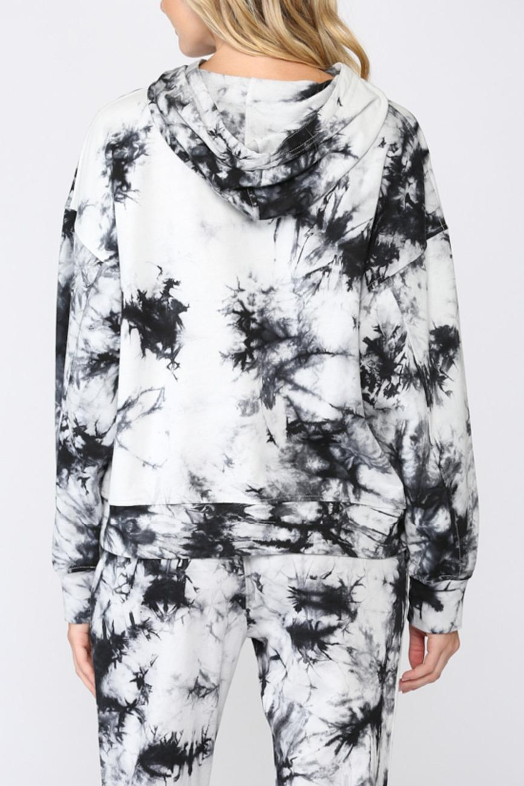 FATE by LFD Tie Dye Hoodie - Front Full Image