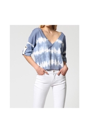 FATE by LFD Tie Dye Sweater - Front cropped