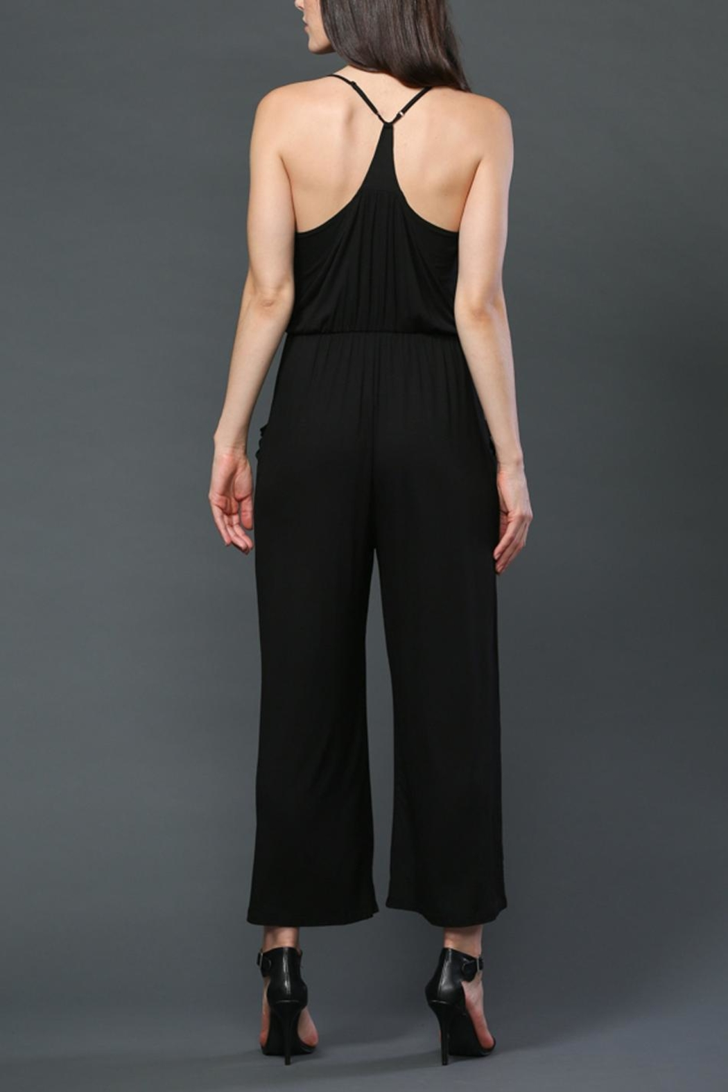 FATE by LFD Tie Front Romper - Side Cropped Image