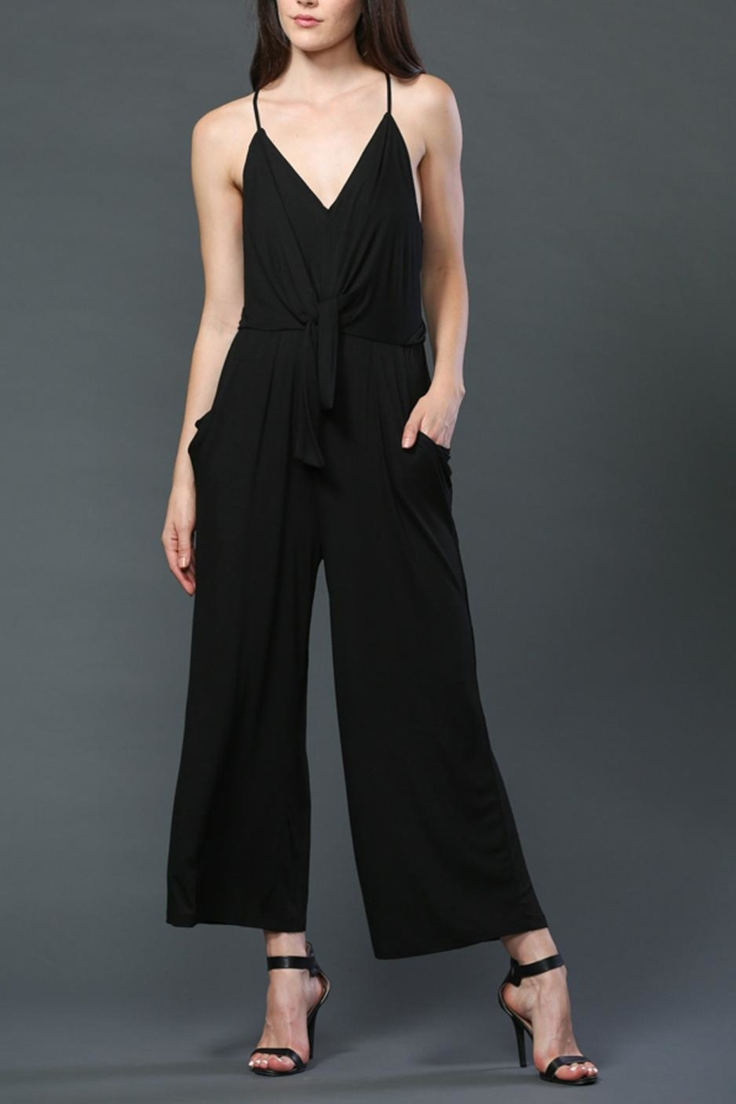 FATE by LFD Tie Front Romper - Front Full Image