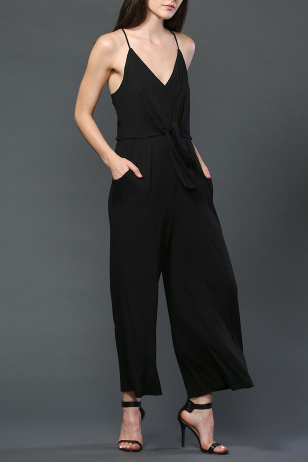 FATE by LFD Tie Front Romper - Main Image