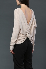 FATE by LFD Twist Back Sweater - Front cropped