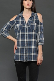 FATE by LFD Washed Plaid Shirt - Product Mini Image
