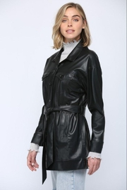 Fate Inc. Faux Leather Jacket - Side cropped