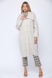 Fate Inc. Over Sized Wide Collar Cardigan - Product Mini Image