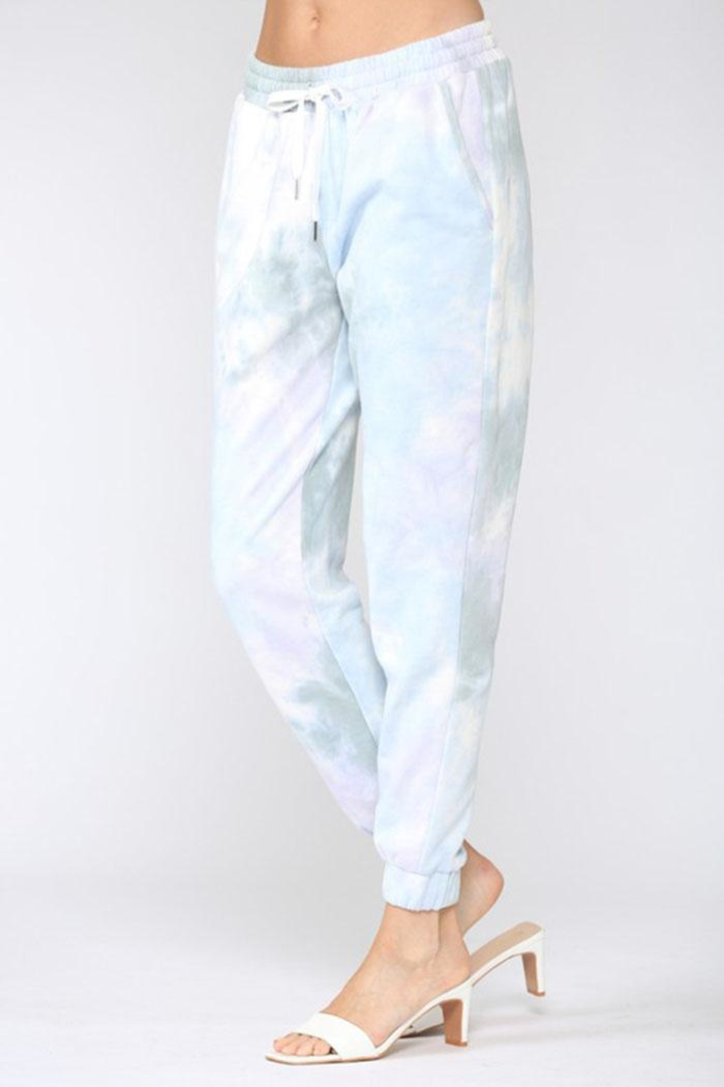 Fate Inc. Tie Dye Jogger - Front Full Image