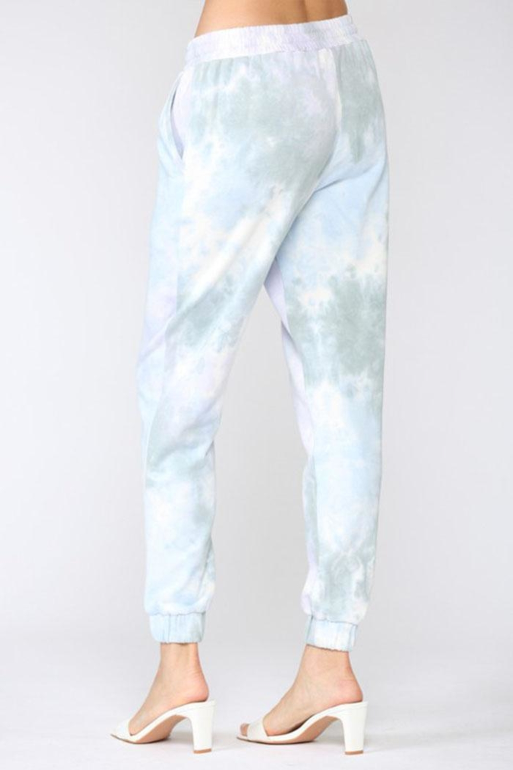 Fate Inc. Tie Dye Jogger - Side Cropped Image