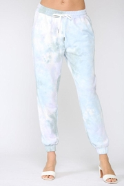 Fate Inc. Tie Dye Jogger - Front cropped