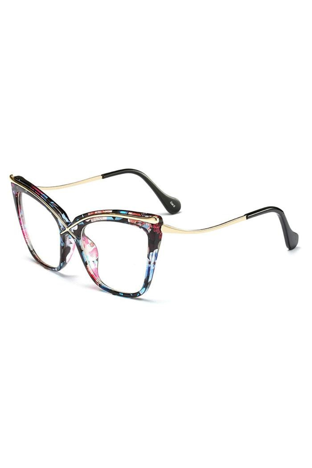 Madison Avenue Accessories Fatima Glasses - Front Full Image