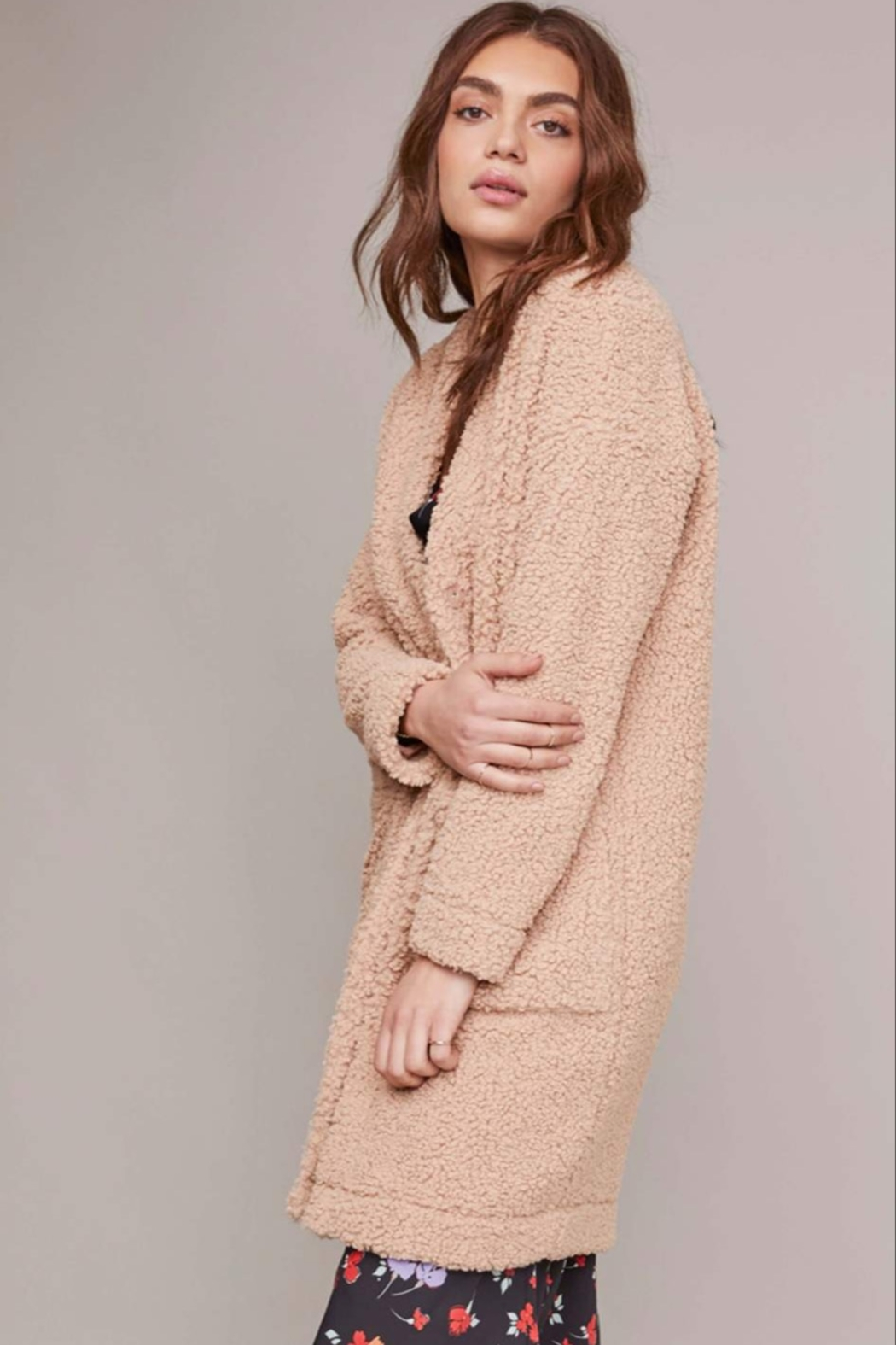 ASTR the Label FAUNA COAT - Front Cropped Image