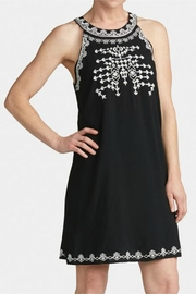 Coco + Carmen Fauna Embroidered Halter-Dress - Front cropped