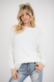 Fashion District Faux Angora Sweater - Product Mini Image