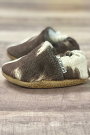 Trendy Baby  Faux Cow Hide Moccasins- 12-18 Months - Product Mini Image