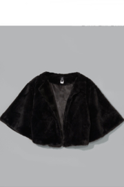 Echo Design Faux Fur Bolero - Front cropped
